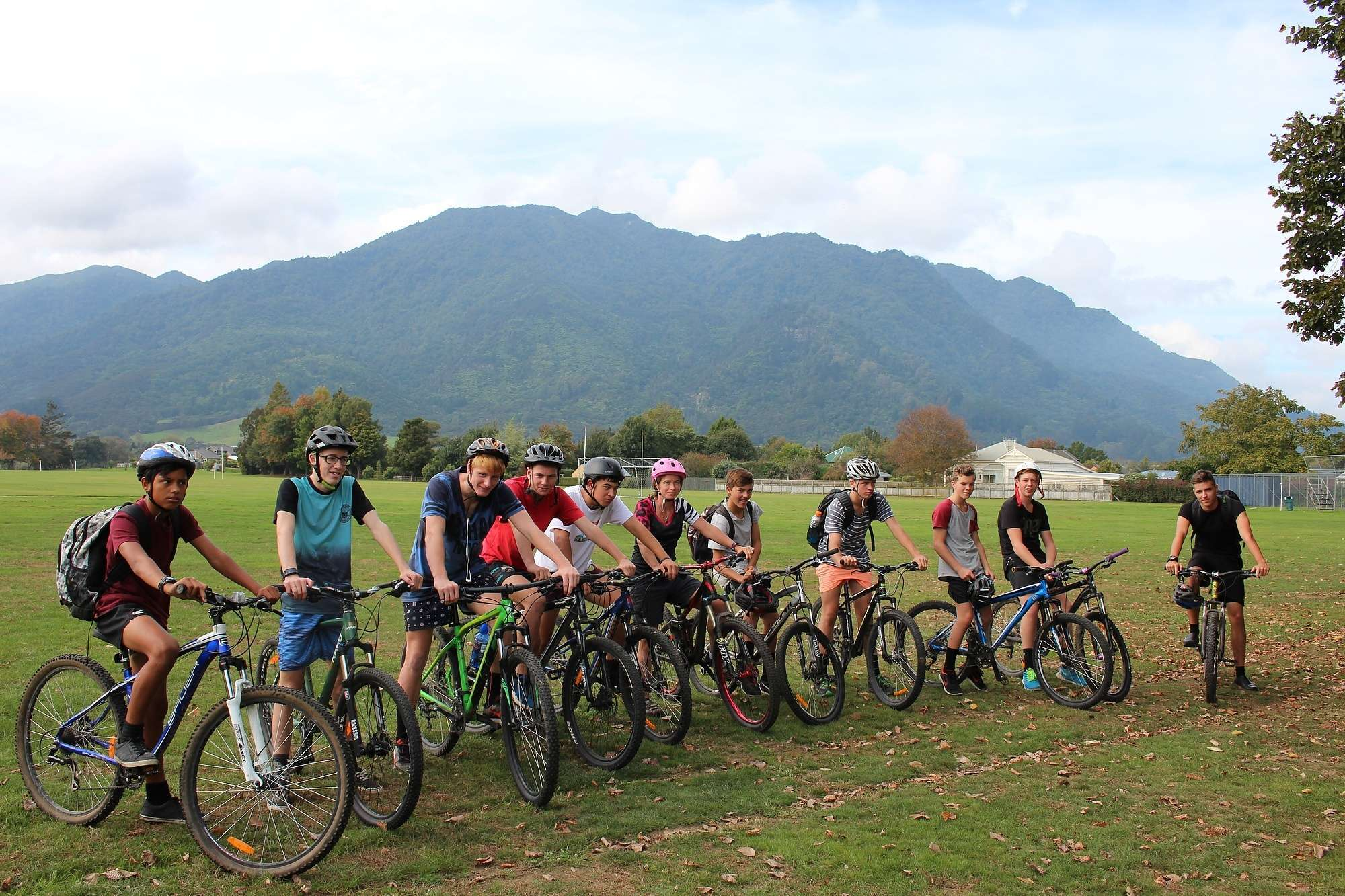 Mountain Biking Interest Group - Interest Day - Curriculum  -  Te Aroha College