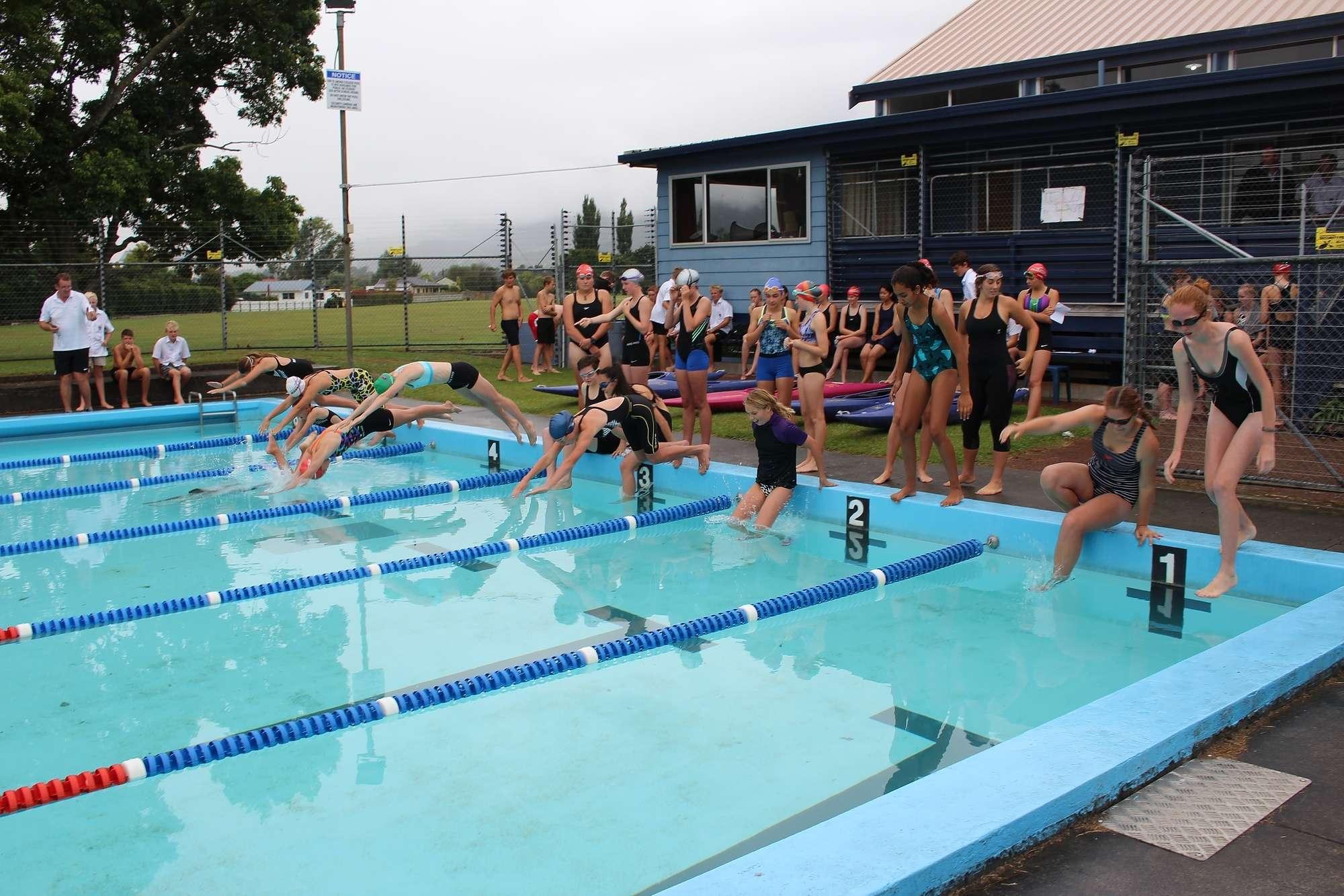 Trialthon - Sports  -  Te Aroha College