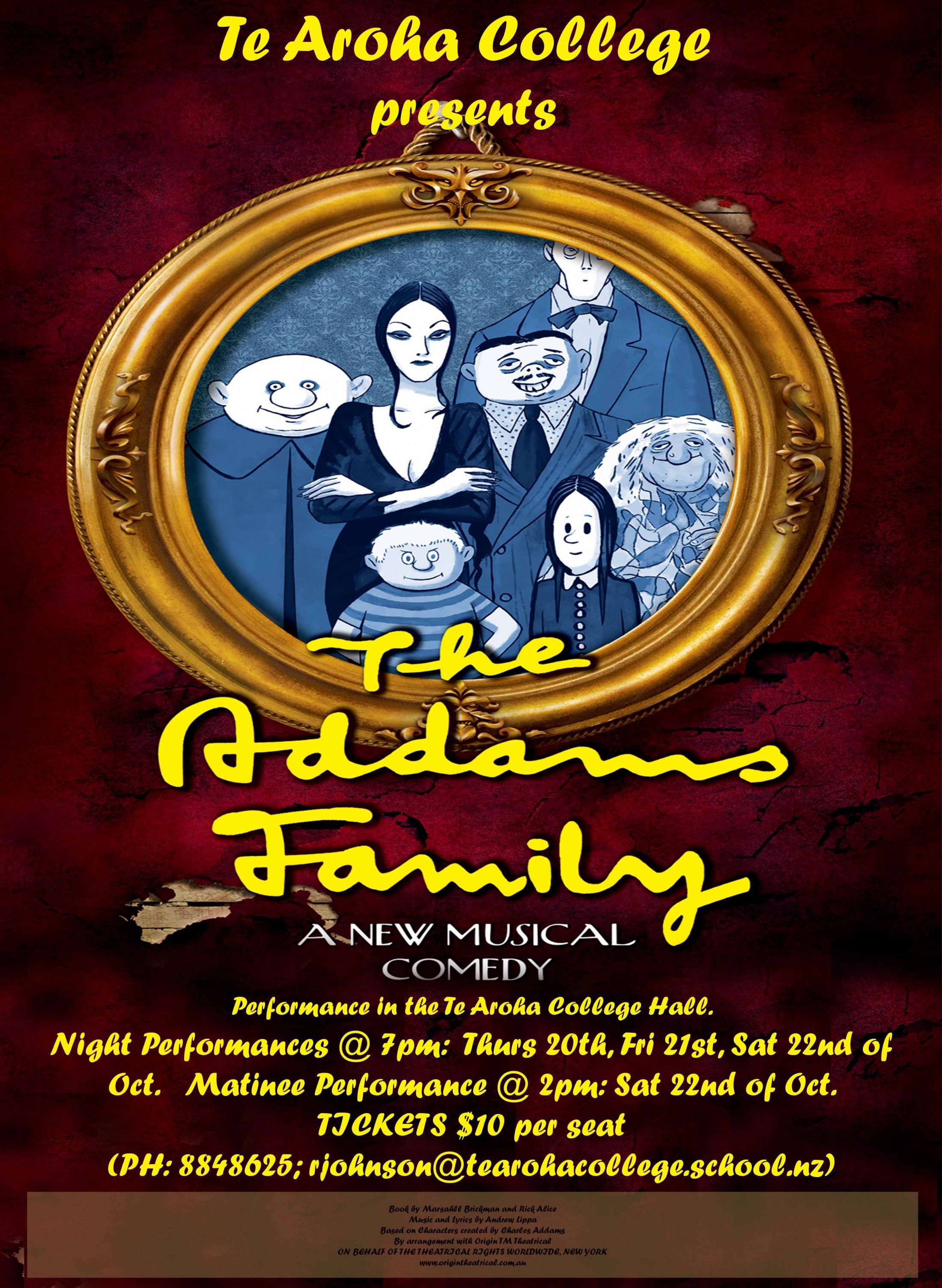 Addams Family Production
