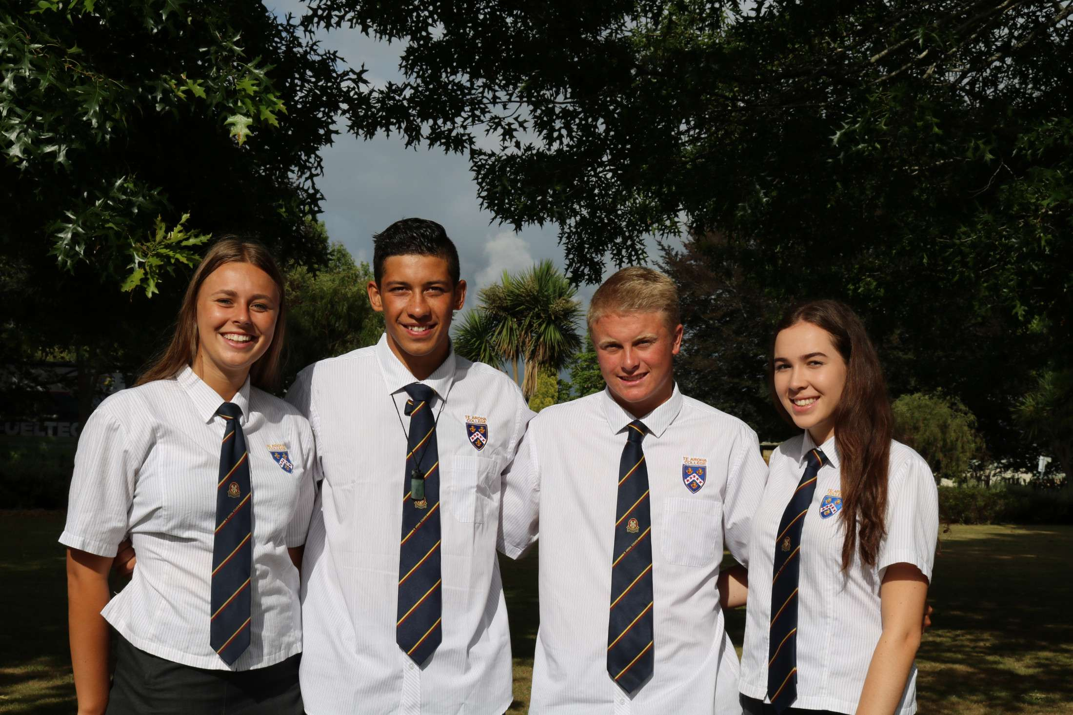 Student Leaders 2017 • About  •  Te Aroha College