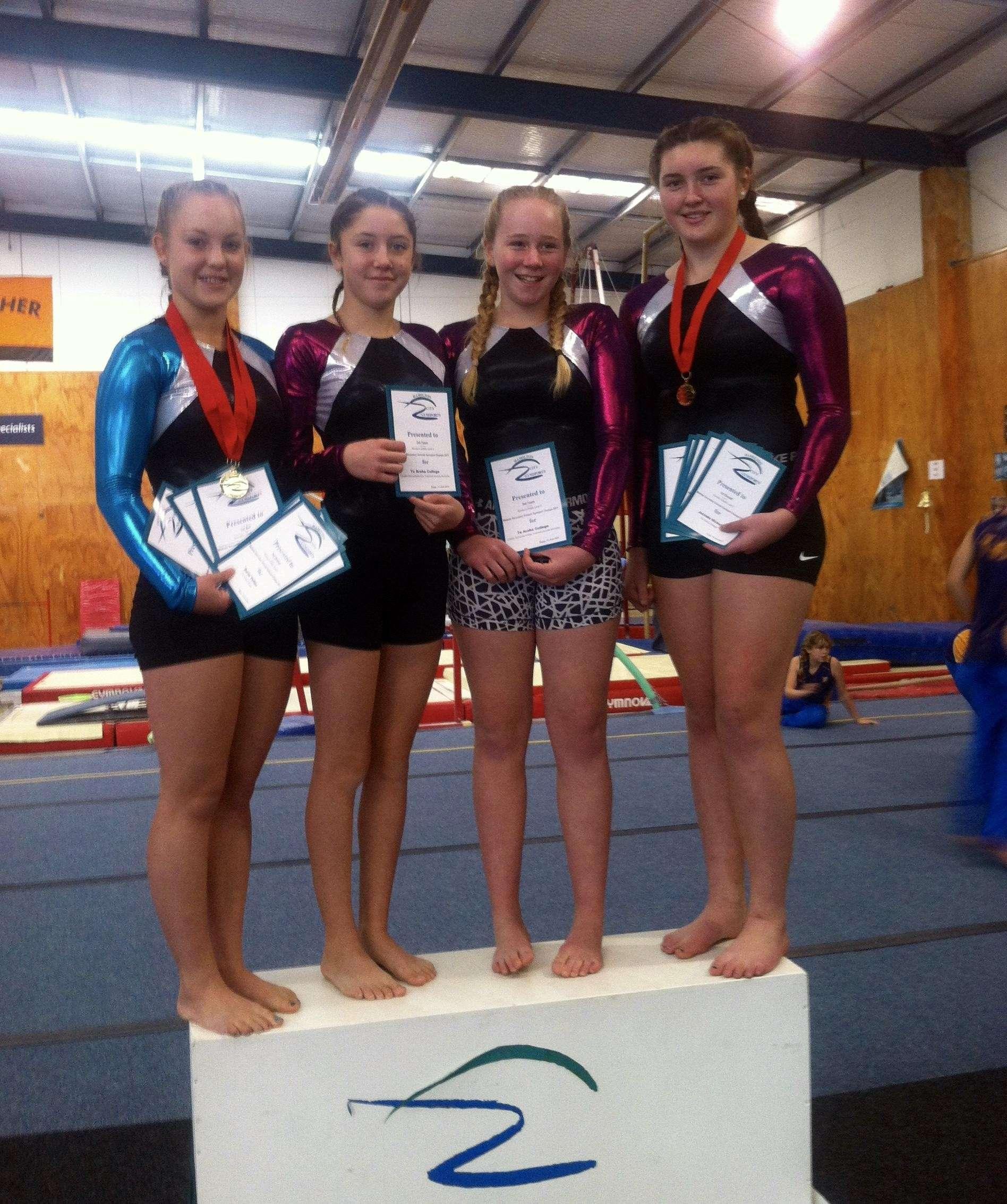 Waikato Secondary Schools Gymsports Festival