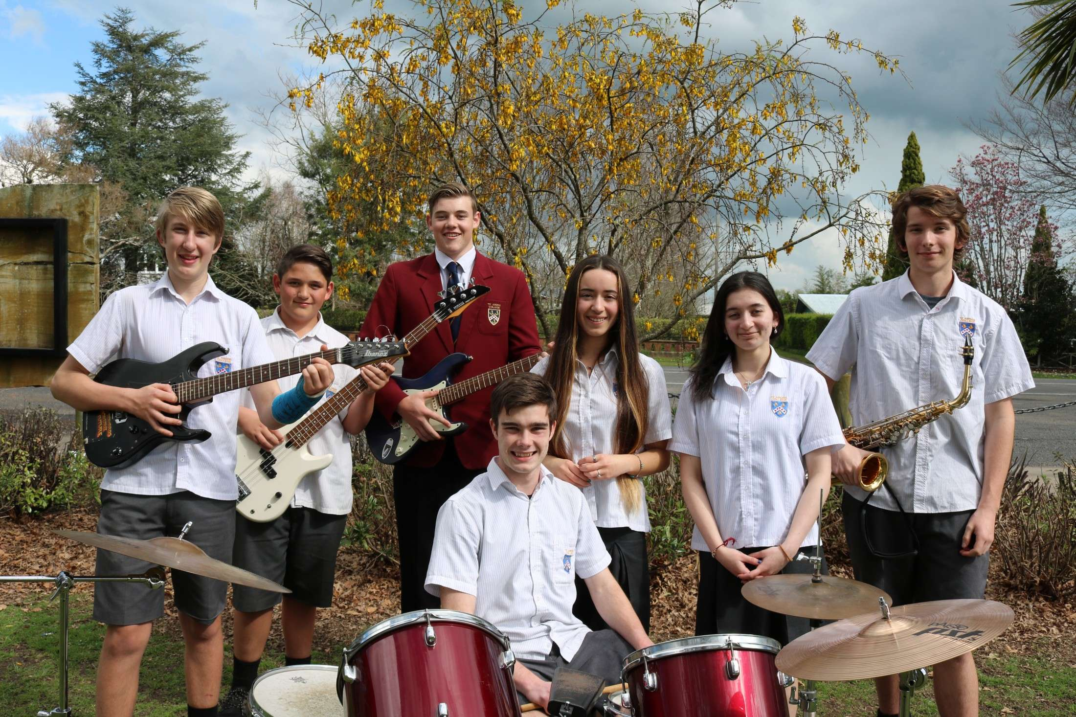 Te Aroha College School Band