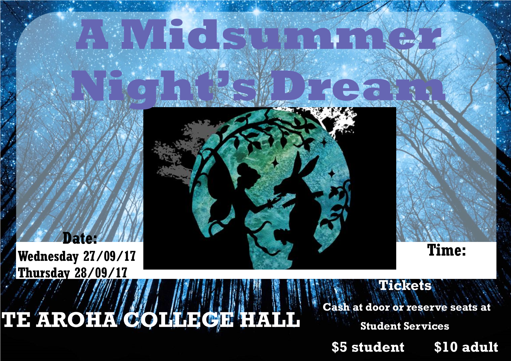 A Midsummer Night's Dream - School Production