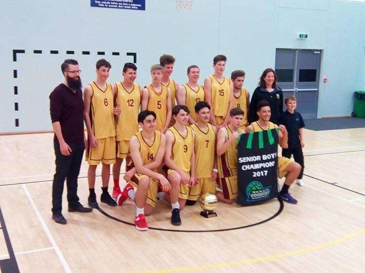 Central Country Senior Boys Champions
