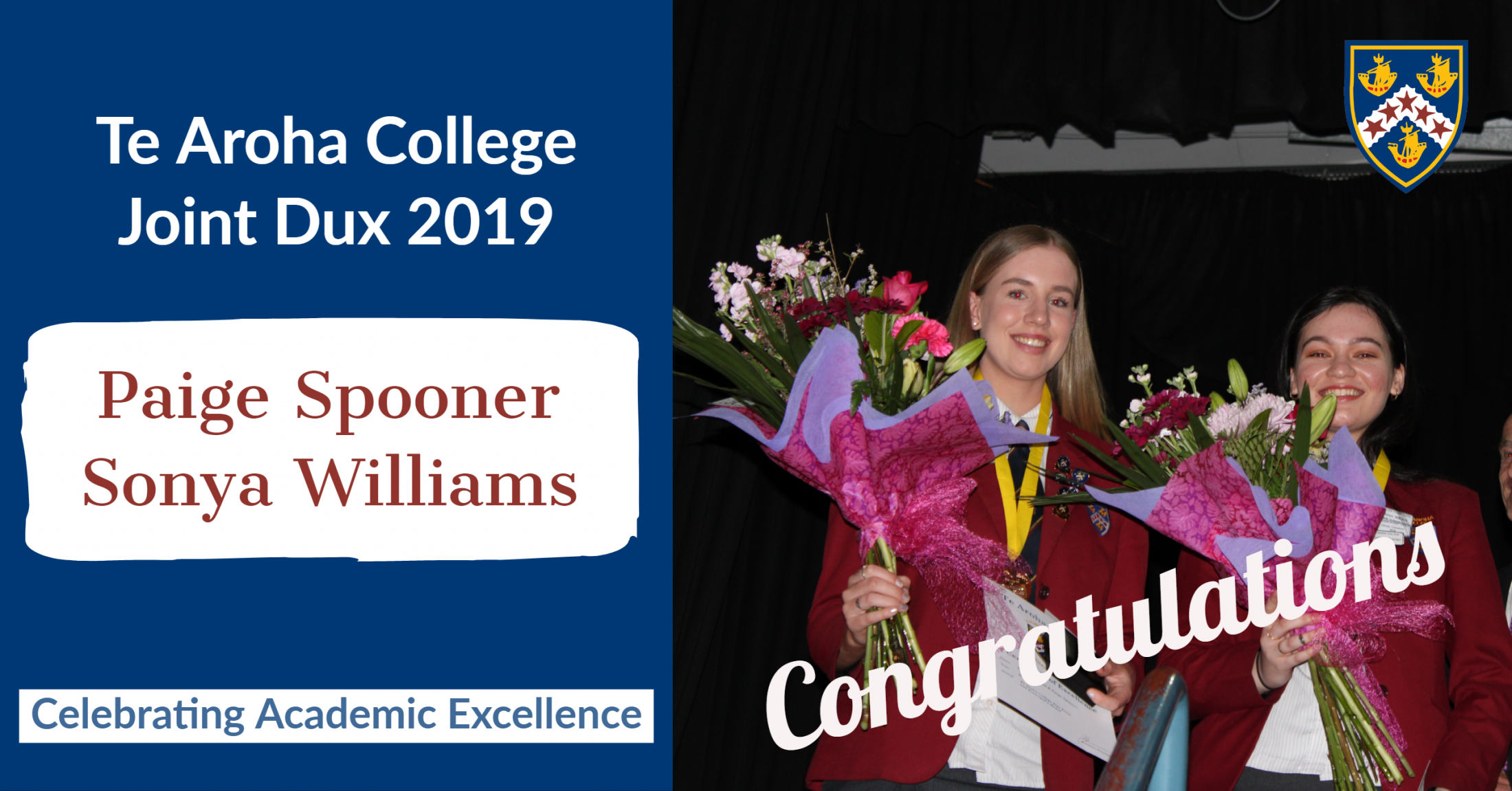 Senior Academic Prize Giving 2019 • News  •  Te Aroha College