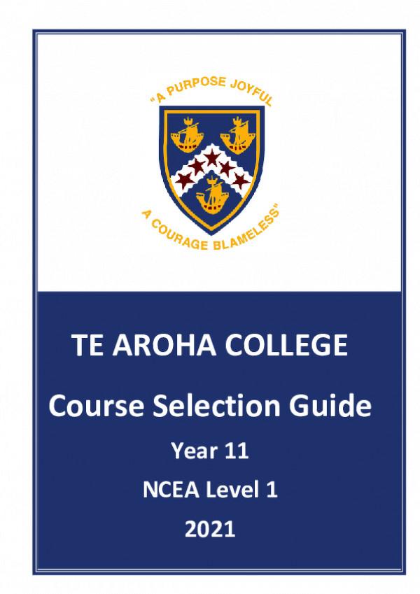 2021 Course Selection Y11   Draft Schoolpoint