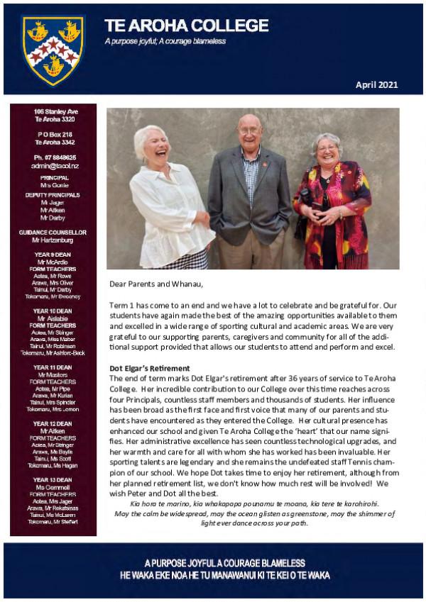 Newsletter April 2021 Final Website